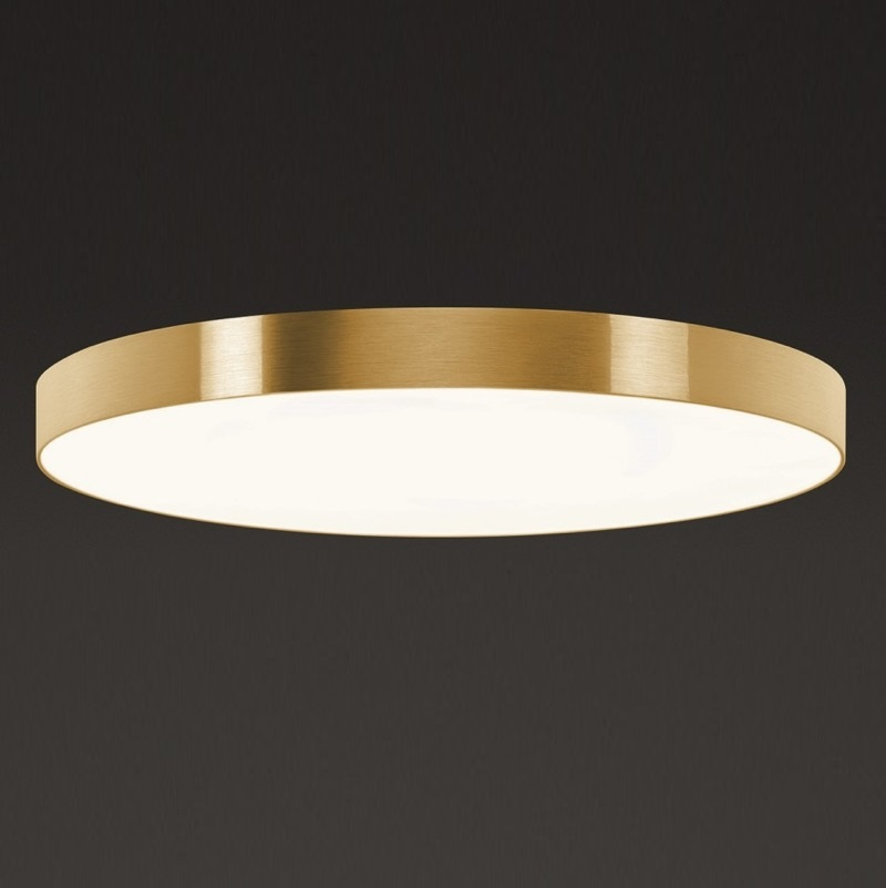 hufnagel led deckenleuchte aurelia x gold 3000k 60cm 1x. Black Bedroom Furniture Sets. Home Design Ideas