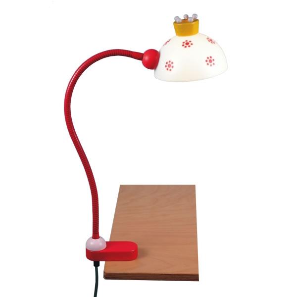 kinder schreibtisch klemmlampe wohnlicht. Black Bedroom Furniture Sets. Home Design Ideas