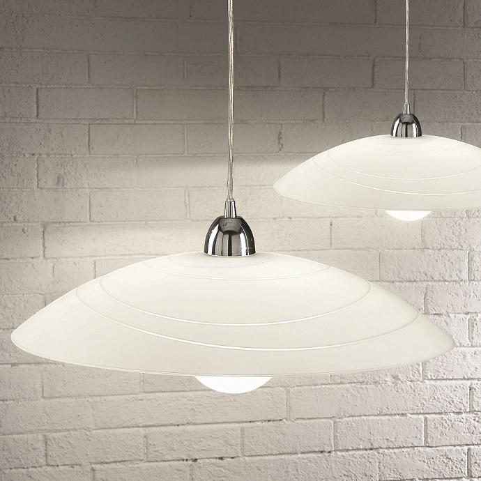 klassische pendelleuchte f r die k che glas rund rund 50 00 cm wohnlicht. Black Bedroom Furniture Sets. Home Design Ideas