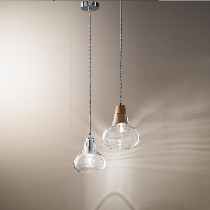 klassische pendelleuchte geblasenes glas rund 2 farben wohnlicht. Black Bedroom Furniture Sets. Home Design Ideas