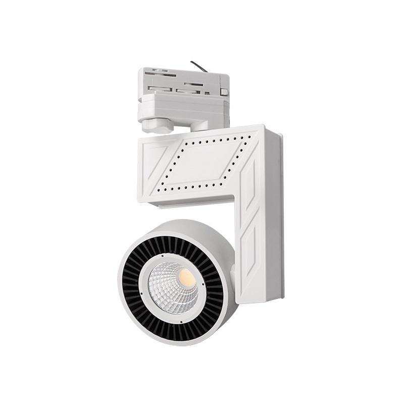 komplettpaket 3 phasen led strahler inklusive schiene und zubeh r wohnlicht. Black Bedroom Furniture Sets. Home Design Ideas