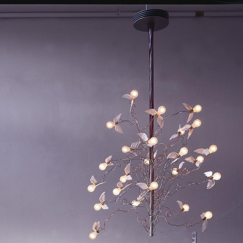 kronleuchter birds birds birds wohnlicht. Black Bedroom Furniture Sets. Home Design Ideas