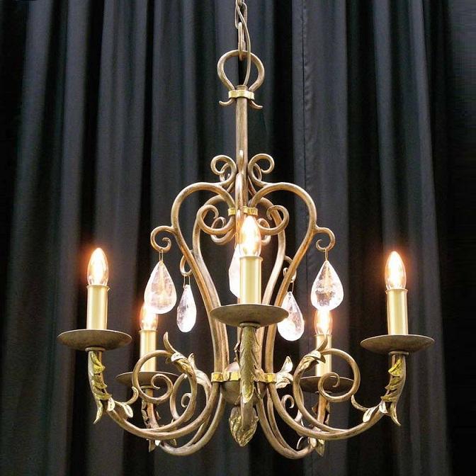 kronleuchter mit echten handgeschliffenen kristallen wohnlicht. Black Bedroom Furniture Sets. Home Design Ideas