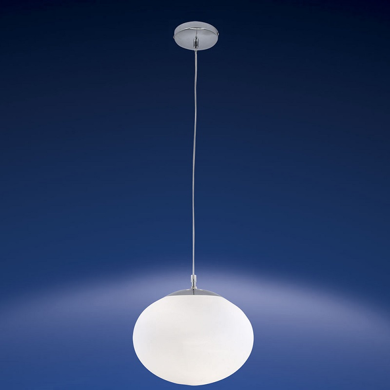 kugel pendelleuchte mit mundgeblasenem glas 28 cm 1x 60 watt 28 00 cm wohnlicht. Black Bedroom Furniture Sets. Home Design Ideas