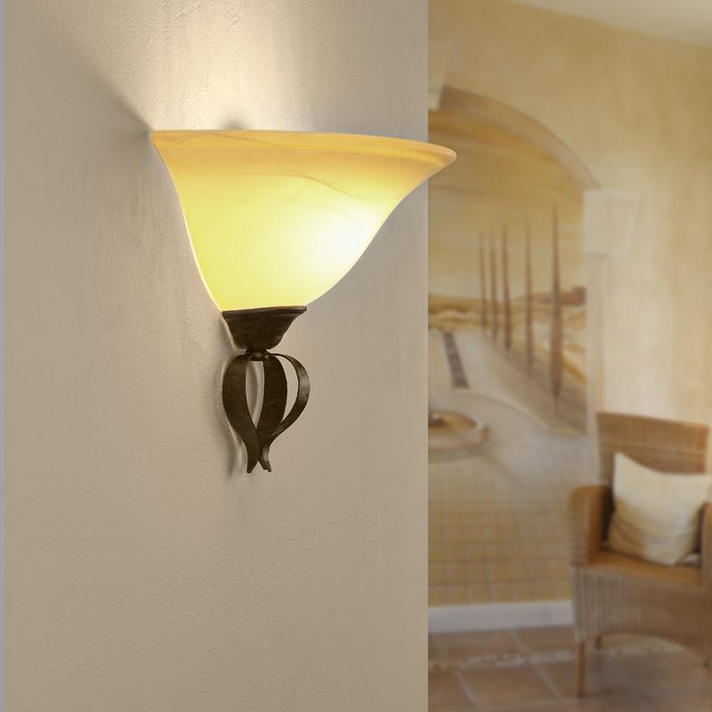 Landhaus wandleuchte f r weiches und warmes licht wohnlicht - Wandleuchte landhaus ...