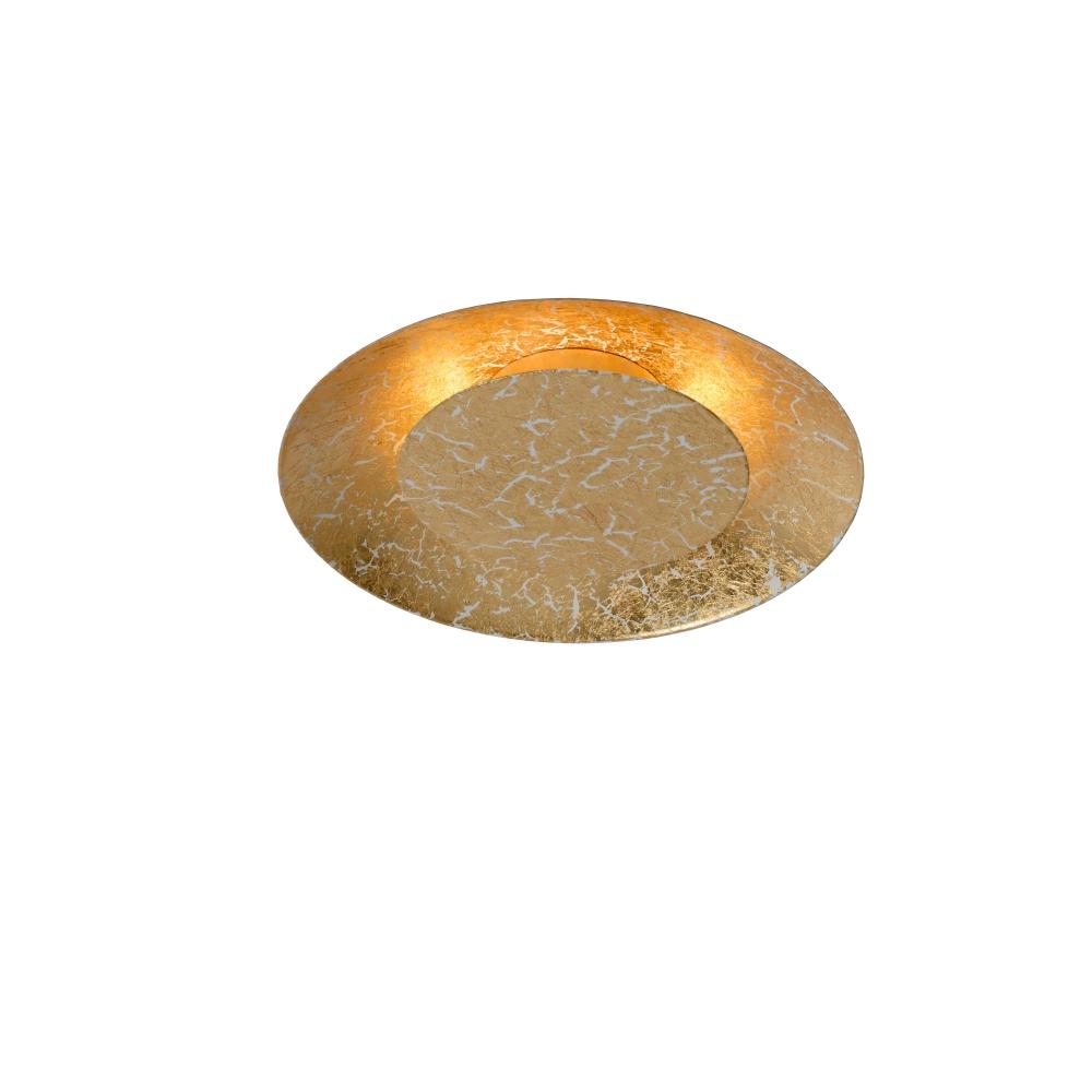 led deckenleuchte foskal rund in gold 2 gr en verf gbar. Black Bedroom Furniture Sets. Home Design Ideas