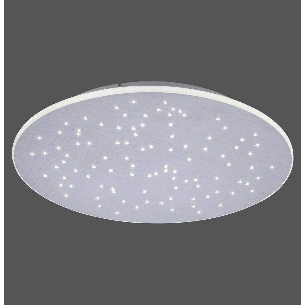 LED Deckenleuchte, rund 48,5cm, Smart Home, Sternhimmel, Fernbedienung   WOHNLICHT