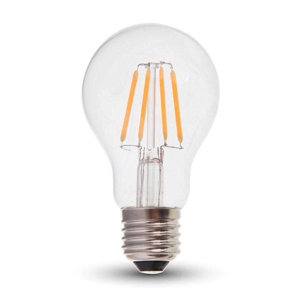 led filament leuchtmittel e27 4 watt 400 lumen wohnlicht. Black Bedroom Furniture Sets. Home Design Ideas