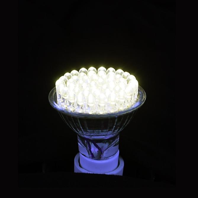 led leuchtmittel gu10 wei 230v 2 4w wohnlicht. Black Bedroom Furniture Sets. Home Design Ideas