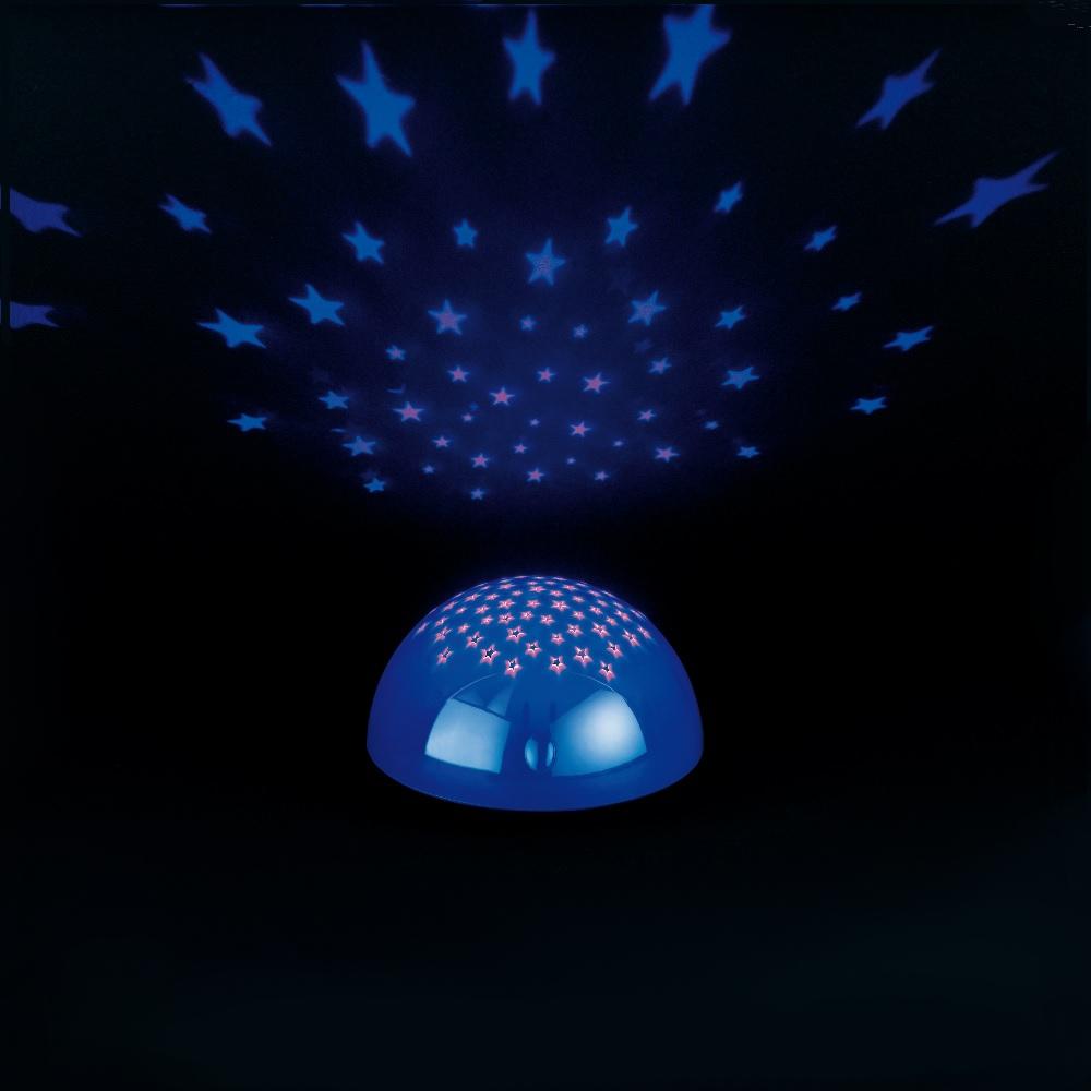 led nachtlicht mit buntem sternenhimmel wohnlicht. Black Bedroom Furniture Sets. Home Design Ideas
