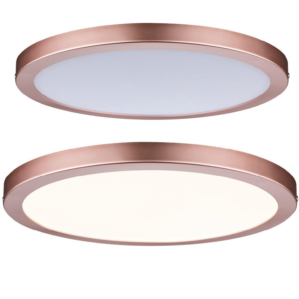 LED Panel Deckenleuchte Atria in rund rund, 30,00 cm   WOHNLICHT