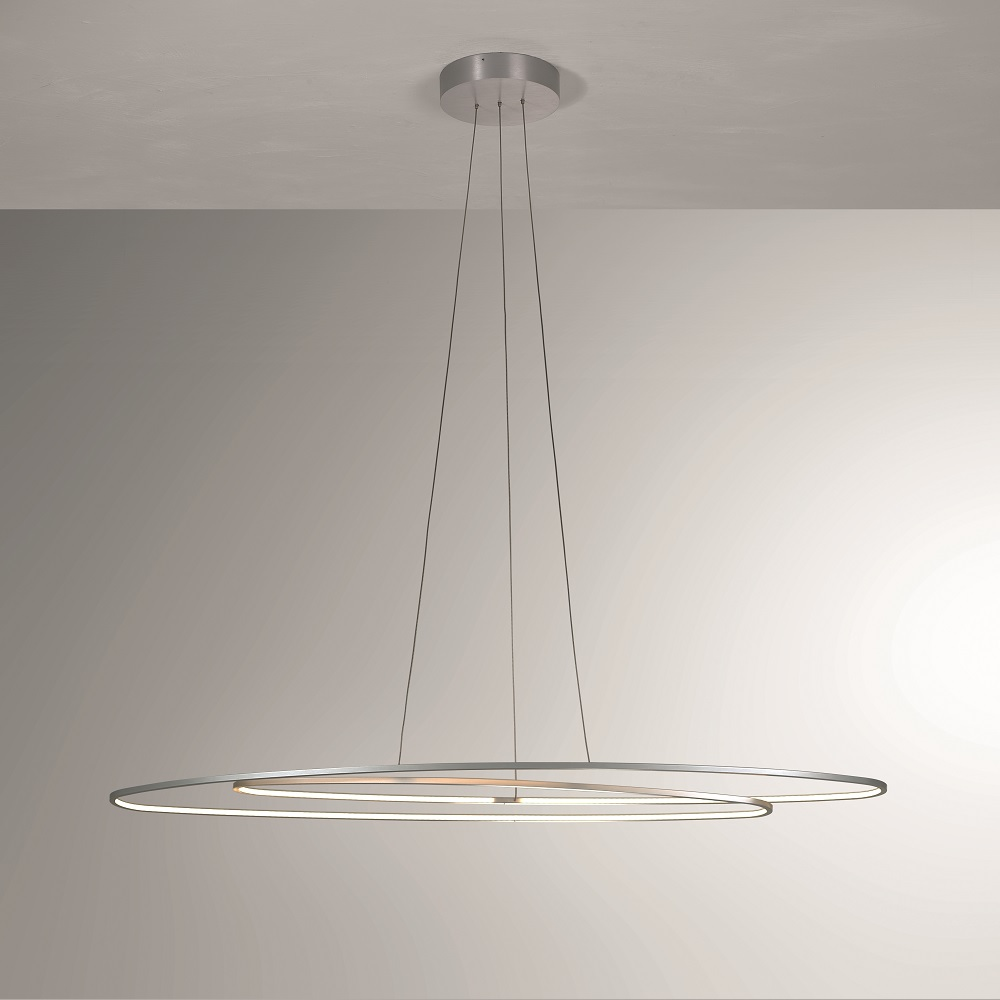 led pendelleuchte flair mit umlaufender led wohnlicht. Black Bedroom Furniture Sets. Home Design Ideas
