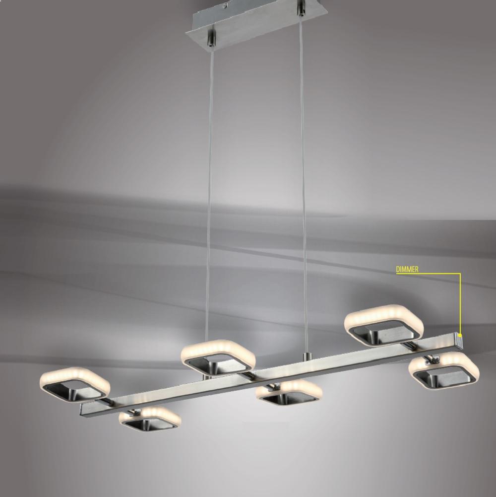 led pendelleuchte nero mit touch direktdimmer wohnlicht. Black Bedroom Furniture Sets. Home Design Ideas