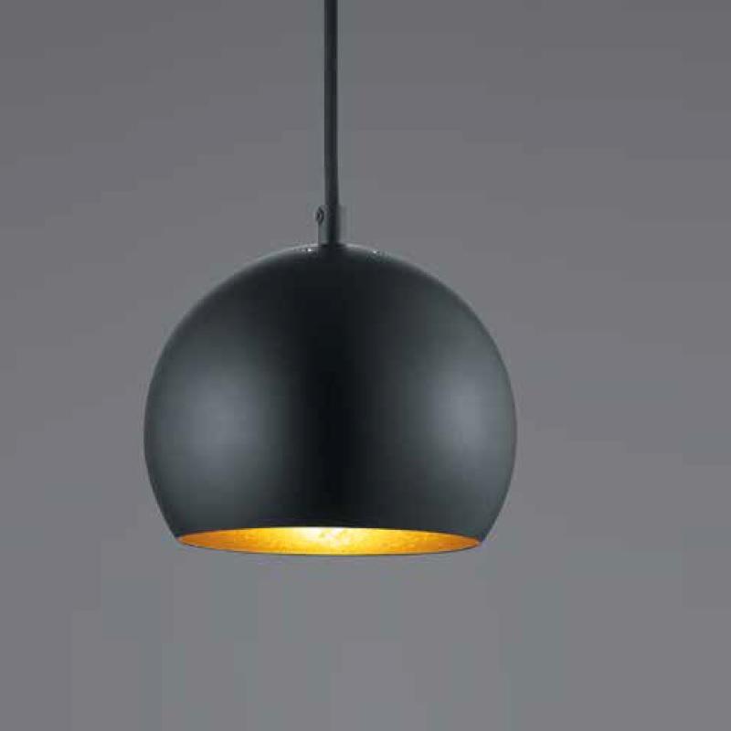 led pendelleuchte pluto 5 flammig schwarz matt schwarz wohnlicht. Black Bedroom Furniture Sets. Home Design Ideas