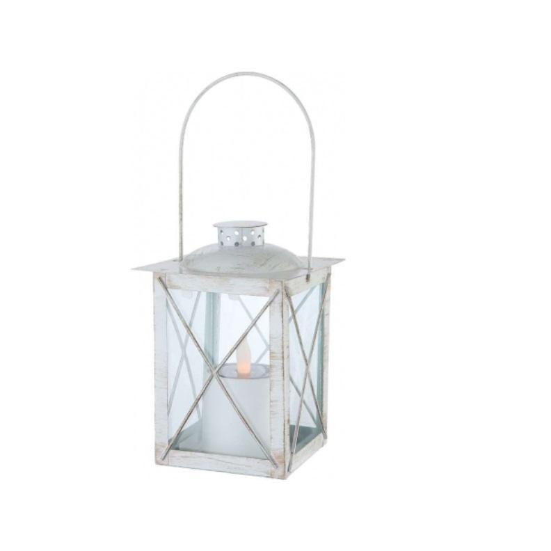 led solarleuchte solar laterne mit led flackerlicht ip44 metall in wei wei wohnlicht. Black Bedroom Furniture Sets. Home Design Ideas