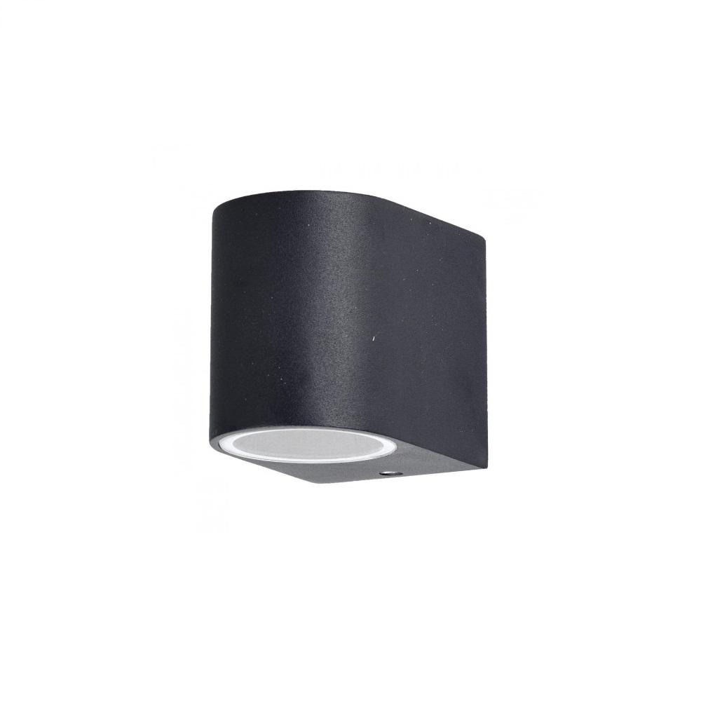 led wandleuchte schwarz aluminiumdruckguss wohnlicht. Black Bedroom Furniture Sets. Home Design Ideas