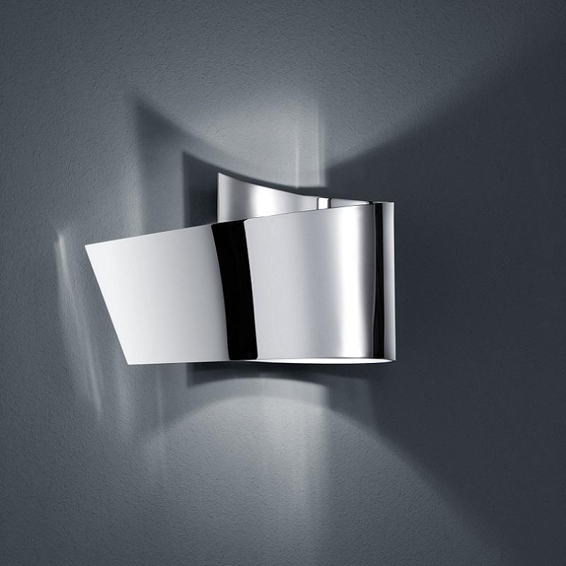 led badleuchte ip44 in nickel oder chrom 1x3w led wohnlicht. Black Bedroom Furniture Sets. Home Design Ideas