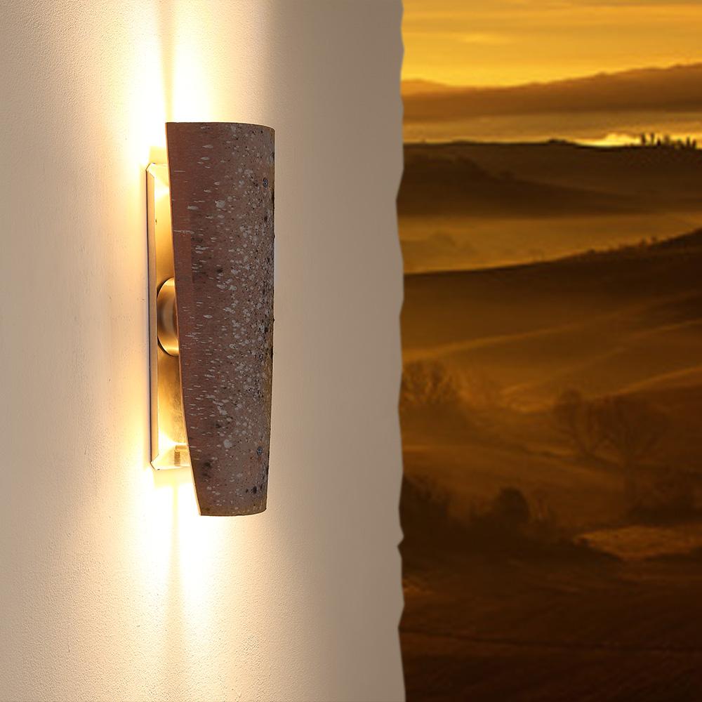 led dachziegel au enleuchte up down teja curva mistral wohnlicht. Black Bedroom Furniture Sets. Home Design Ideas
