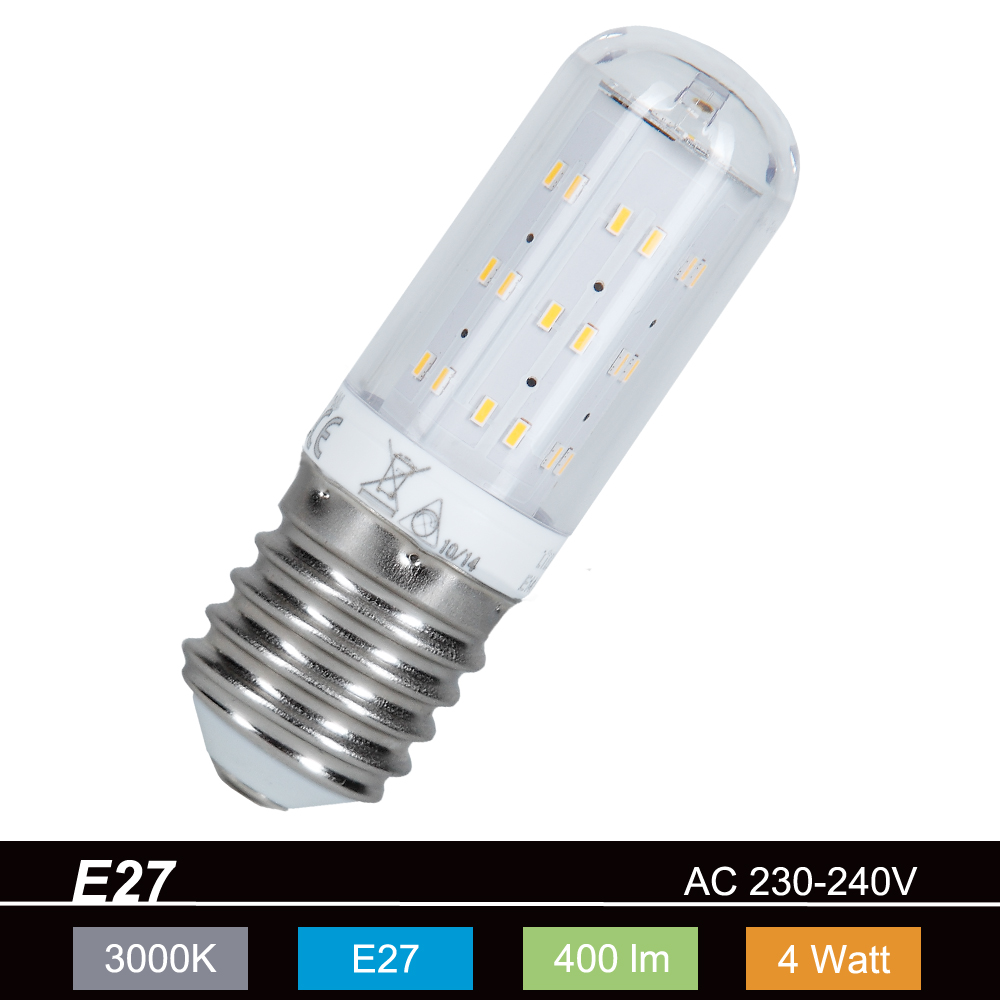 Led Sockel übersicht : led leuchtmittel mit e27 sockel 4 watt 3000 k warmweiss 400 lm wohnlicht ~ Markanthonyermac.com Haus und Dekorationen