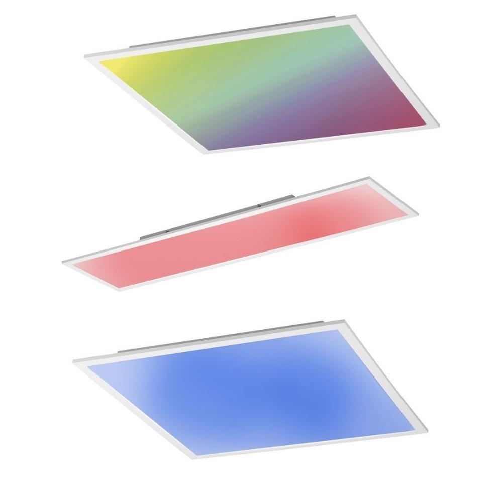 led panel deckenleuchte mit fernbedienung farbe reines. Black Bedroom Furniture Sets. Home Design Ideas
