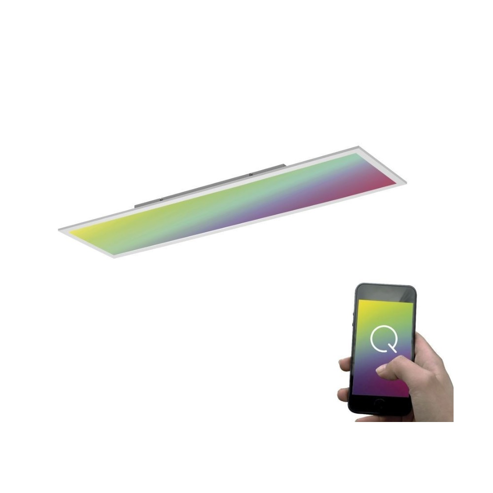 led panel q flag 120 x 30 cm zigbee kompatibel 1x 55 watt 120 00 cm 30 00 cm wohnlicht. Black Bedroom Furniture Sets. Home Design Ideas