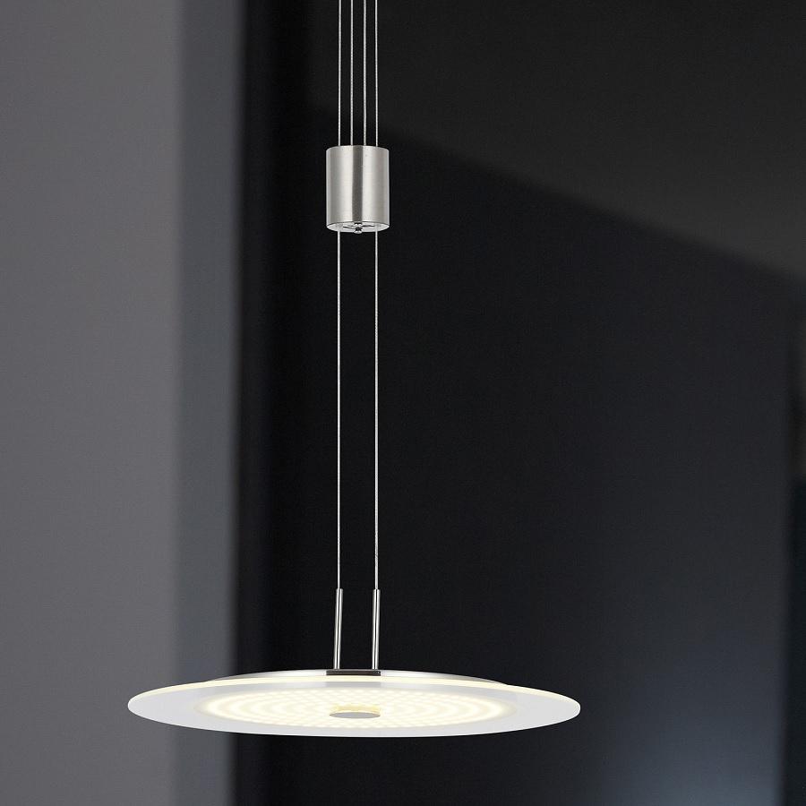 led pendelleuchte glas 35 cm led 21 6w wohnlicht. Black Bedroom Furniture Sets. Home Design Ideas