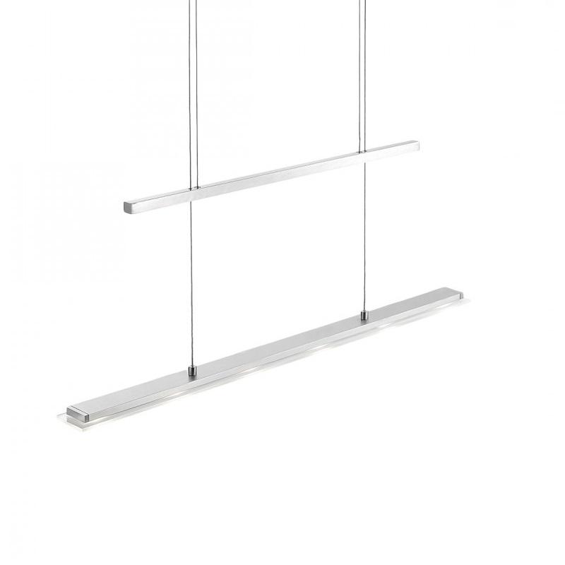 led pendelleuchte rack 2 0 h henverstellbar 6 flammig. Black Bedroom Furniture Sets. Home Design Ideas