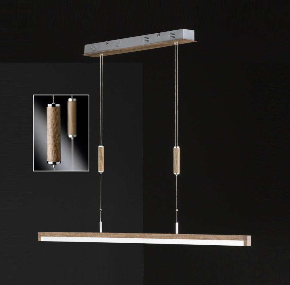 led pendelleuchte stick holz wohnlicht. Black Bedroom Furniture Sets. Home Design Ideas