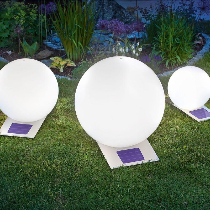 led solar kugelleuchte trendy mit 7 fach farbwechsler 3. Black Bedroom Furniture Sets. Home Design Ideas