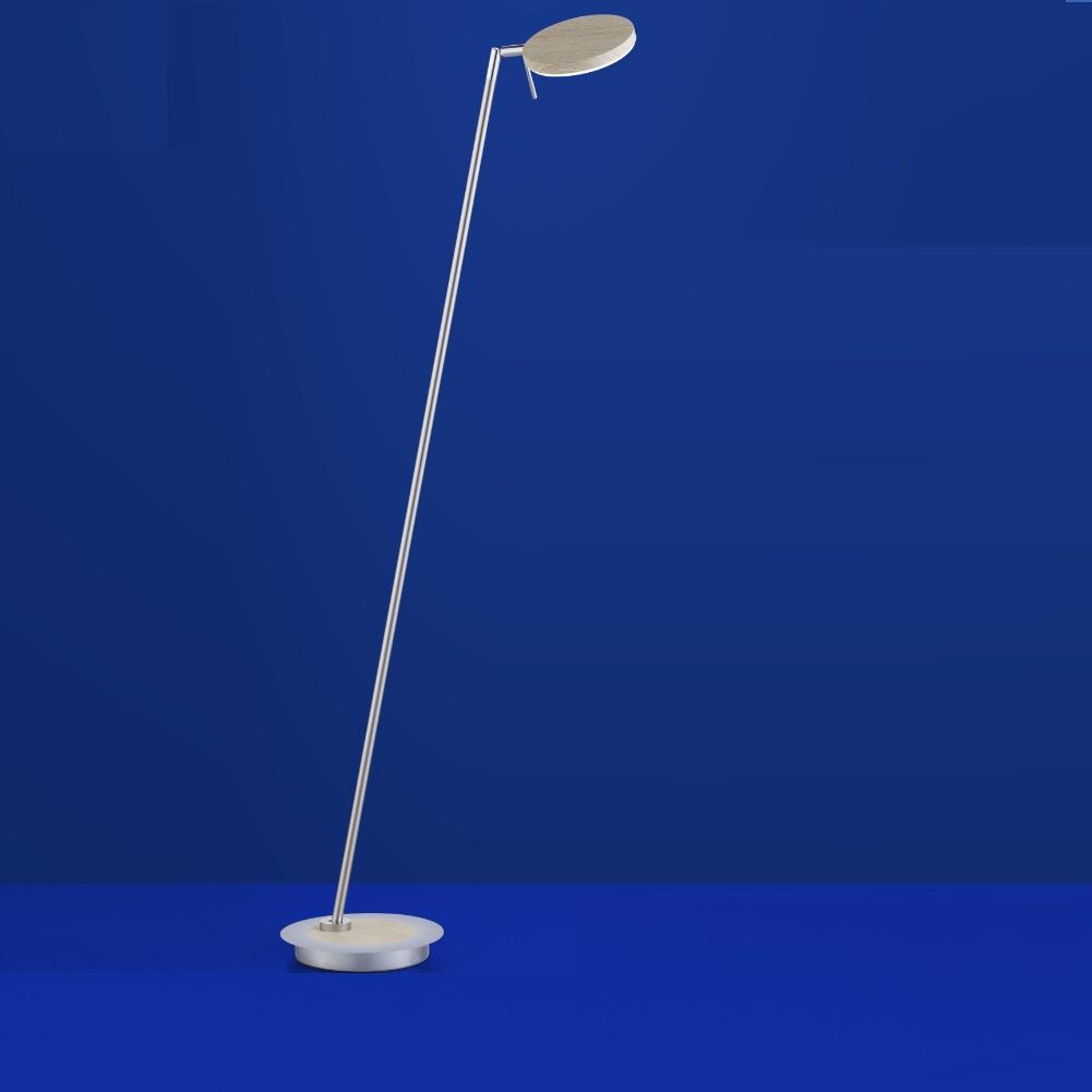 LED-Stehleuchte Omega Mit Holz Von B-Leuchten