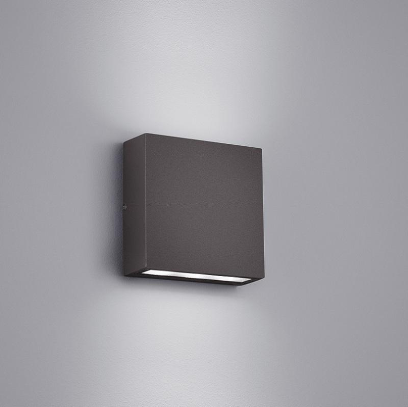 led wandleuchte thames up and down f r au en anthrazit. Black Bedroom Furniture Sets. Home Design Ideas