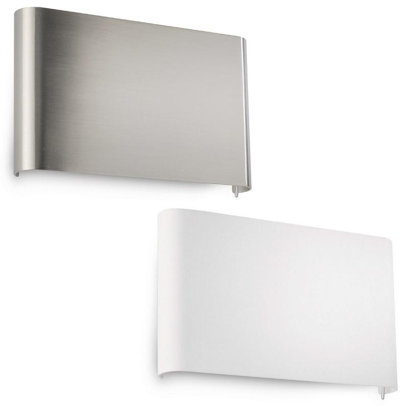 led wandleuchte lichtaustritt oben unten 2 oberfl chen wohnlicht. Black Bedroom Furniture Sets. Home Design Ideas