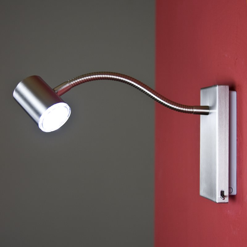 led wandleuchte nur 2 watt inkl leuchtmittel wohnlicht. Black Bedroom Furniture Sets. Home Design Ideas