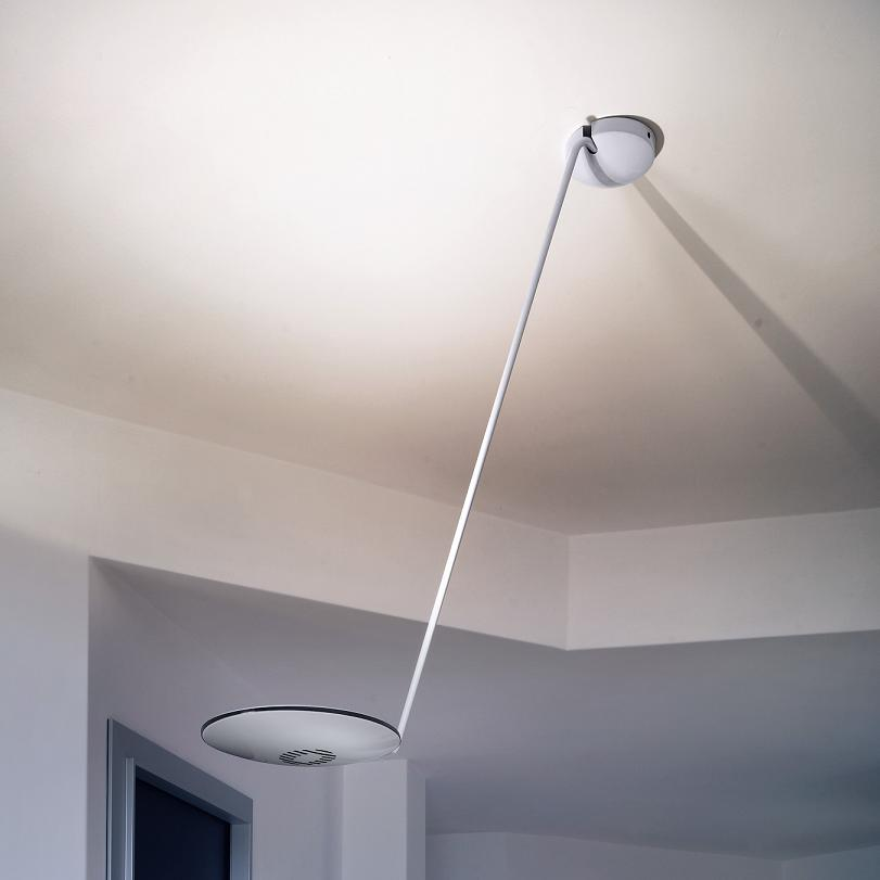 lumina deckenleuchte zeta soffitto verschiedene farben wohnlicht. Black Bedroom Furniture Sets. Home Design Ideas