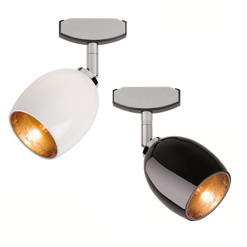 magnetline spot in silber matt oder chrom mit gold. Black Bedroom Furniture Sets. Home Design Ideas