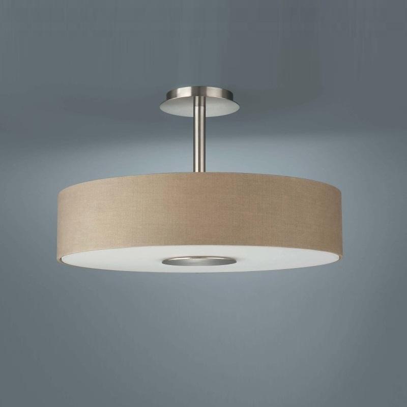 Moderne deckenlampe in schlichter form und zwei for Moderne deckenlampe