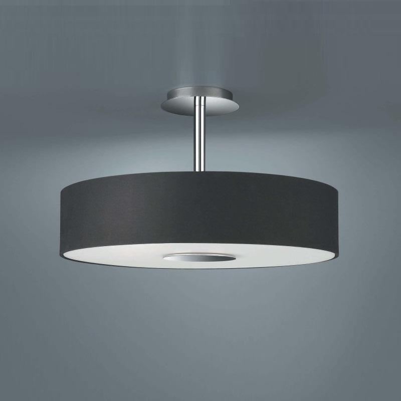 Moderne deckenlampe in schlichter form schwarz schwarz for Moderne deckenlampe