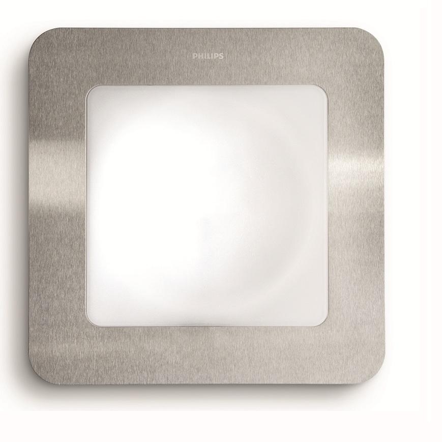 moderne energiespar wandleuchte f r den au enbereich edelstahl kunststoff mit oder ohne. Black Bedroom Furniture Sets. Home Design Ideas