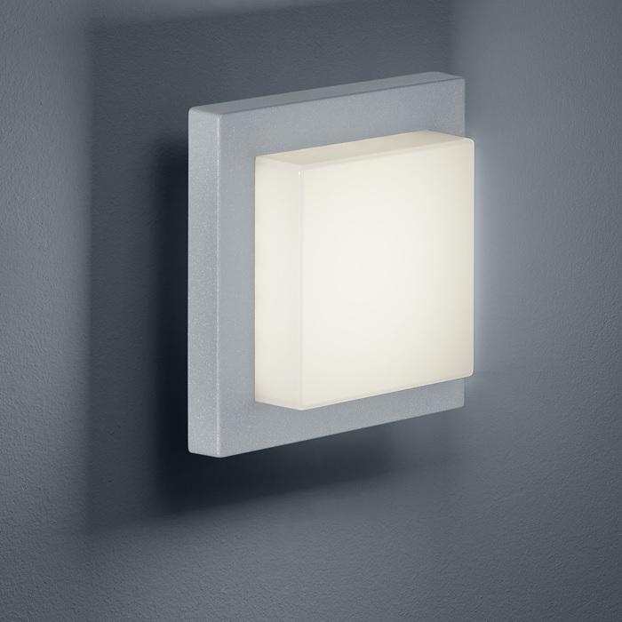 moderne led au en wandleuchte inklusive led 3 5 watt kelvin 330 lumen titanfarbig. Black Bedroom Furniture Sets. Home Design Ideas