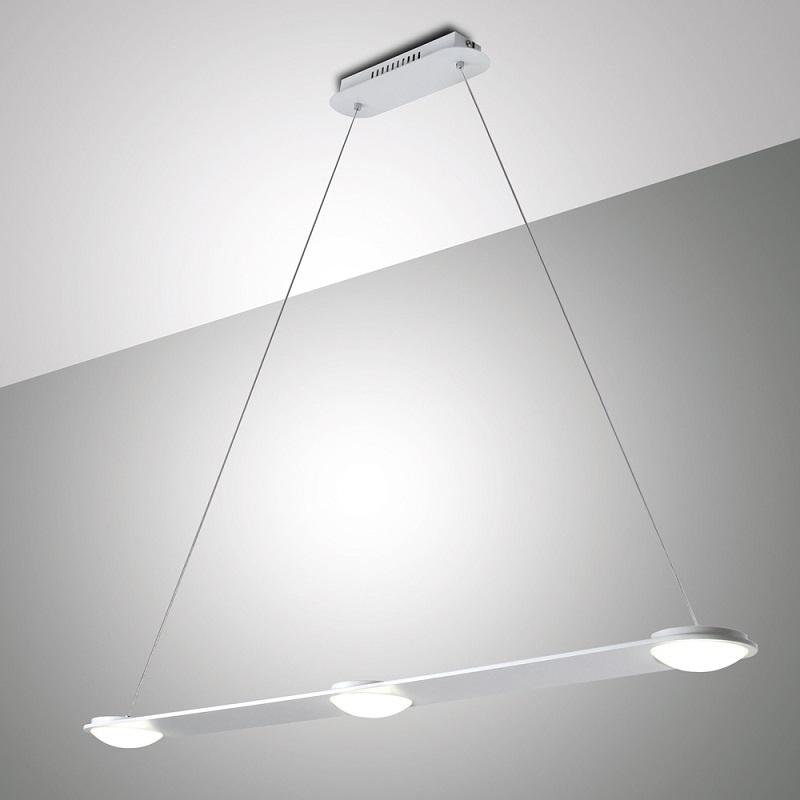 Moderne led pendelleuchte aus metall dimmbar wohnlicht for Moderne pendelleuchte led