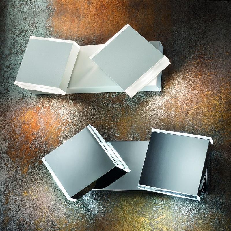 moderne led wandleuchte wandfluter inklusive led platine in 8 varianten w hlbar wohnlicht. Black Bedroom Furniture Sets. Home Design Ideas