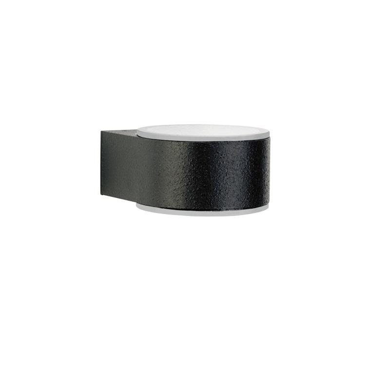 moderne up down leuchte schwarz schwarz wohnlicht. Black Bedroom Furniture Sets. Home Design Ideas