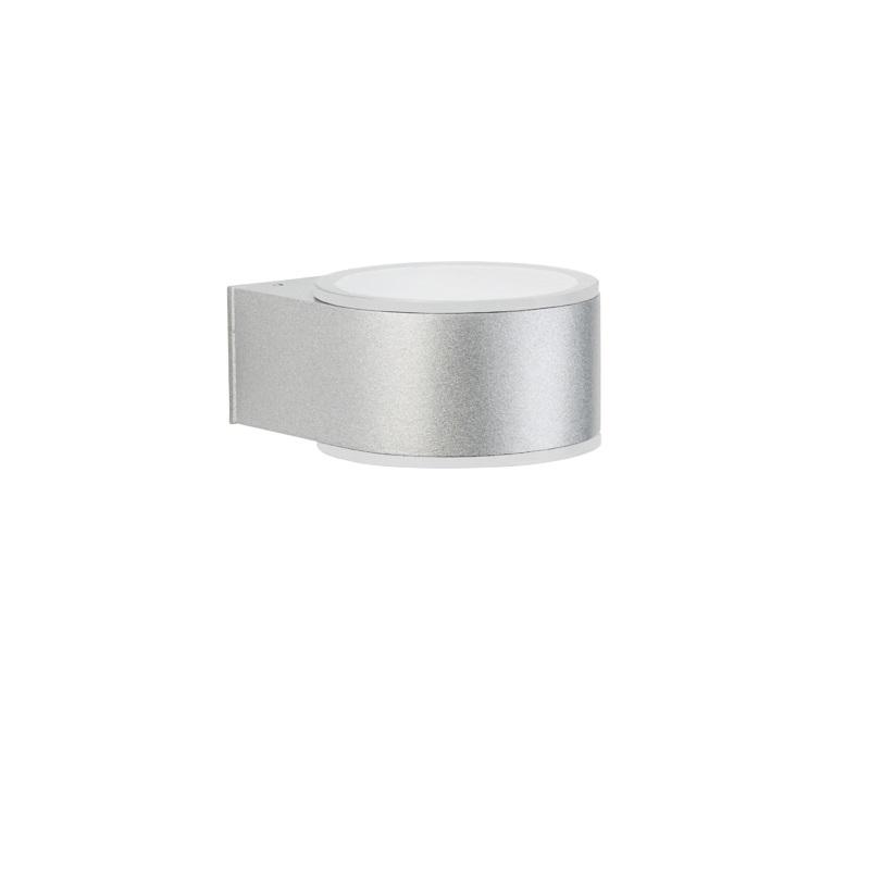moderne up down leuchte silber silber wohnlicht. Black Bedroom Furniture Sets. Home Design Ideas