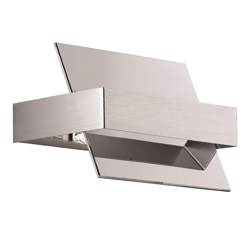 moderne wandleuchte chrom lichtaustritt nach oben und. Black Bedroom Furniture Sets. Home Design Ideas