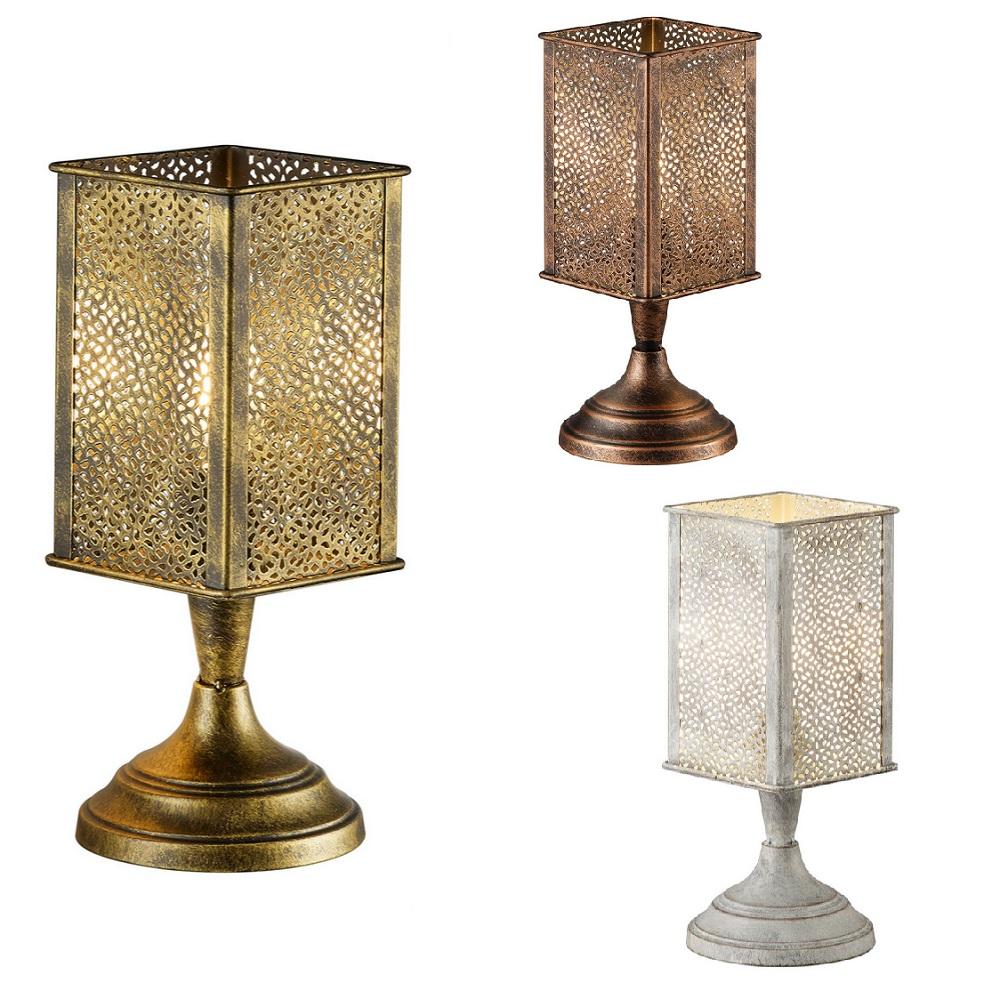 orientalische tischleuchte jana in 3 farben wohnlicht. Black Bedroom Furniture Sets. Home Design Ideas