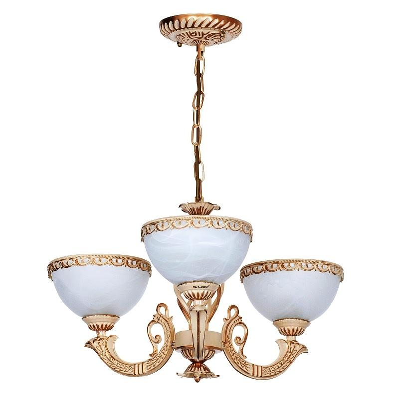 pendelleuchte 3 flg messingfarbig antik wei schirme aus glas mit marmor optik wohnlicht. Black Bedroom Furniture Sets. Home Design Ideas