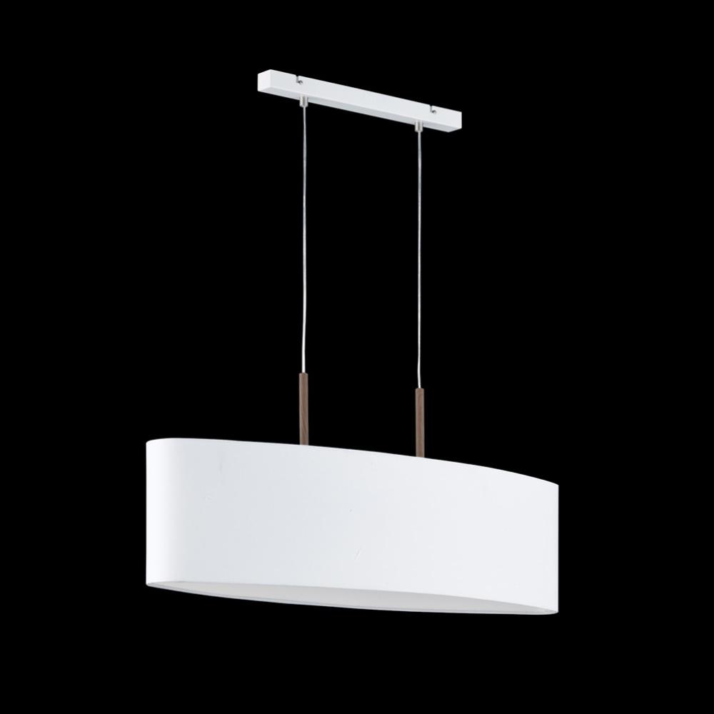 Pendelleuchte aarhus mit stoffschirm wohnlicht for Pendelleuchte stoffschirm