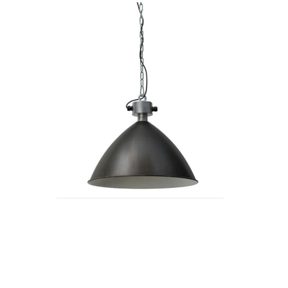 pendelleuchte aus metall in schwarz 52 5cm schwarz. Black Bedroom Furniture Sets. Home Design Ideas