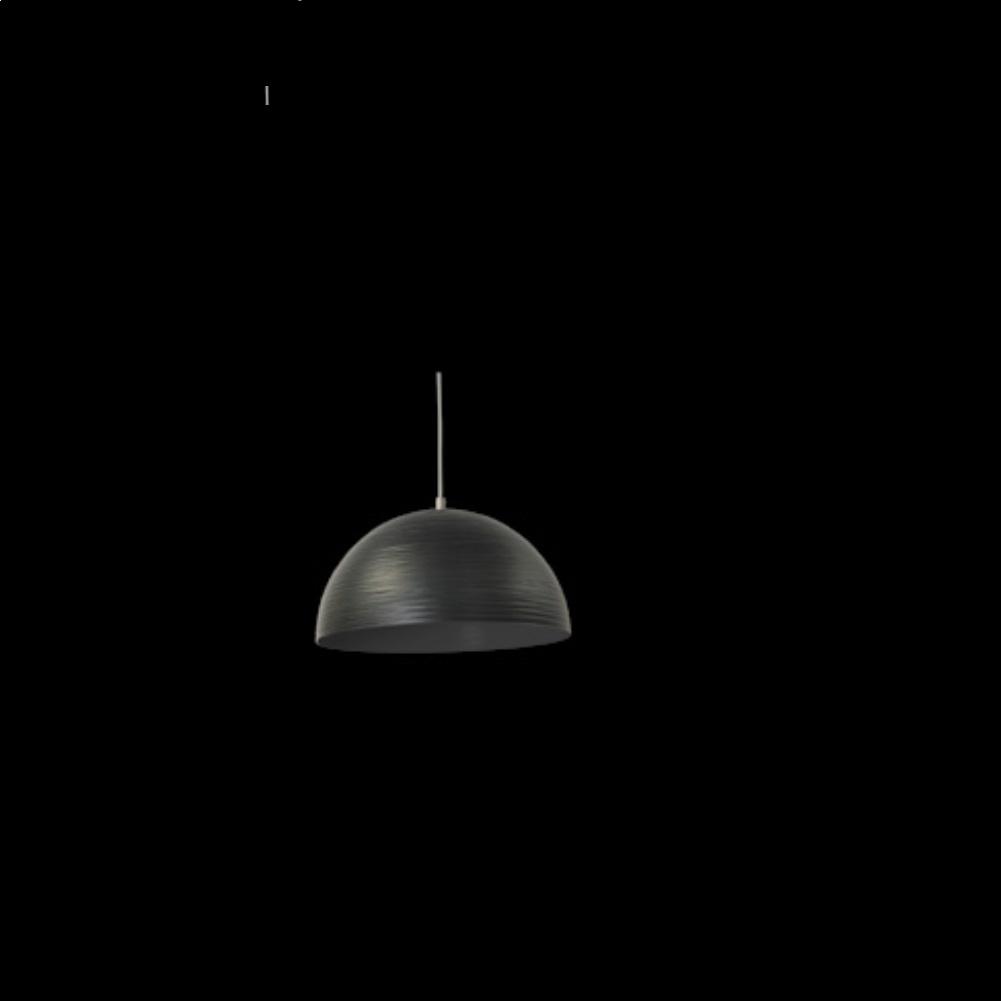 pendelleuchte aus metall in schwarz 30cm schwarz. Black Bedroom Furniture Sets. Home Design Ideas
