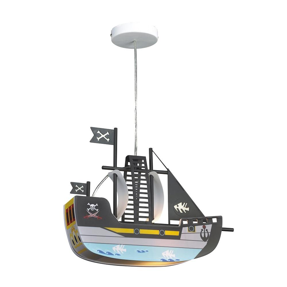 pendelleuchte boat in blau blau multicolor wohnlicht. Black Bedroom Furniture Sets. Home Design Ideas